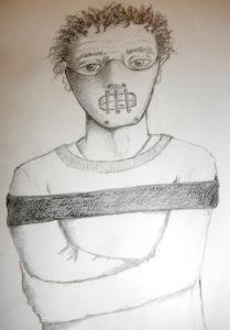 tek dessin au crayon